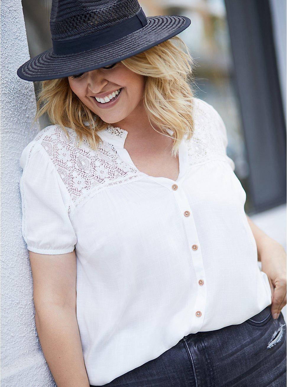 Black Straw Panama Hat, BLACK, hi-res