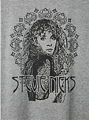 Classic Fit Crew Tee - Stevie Nicks Grey Crew , MEDIUM HEATHER GREY, alternate