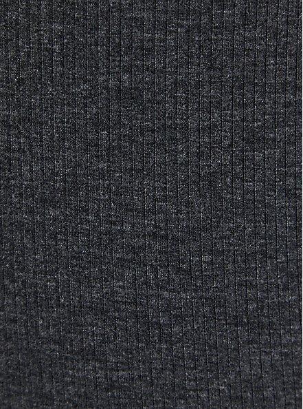 Black Mineral Wash Lace Up Rib Tank, DEEP BLACK, alternate