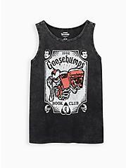 Classic Fit Crew Tank - Goosebumps Black, DEEP BLACK, hi-res