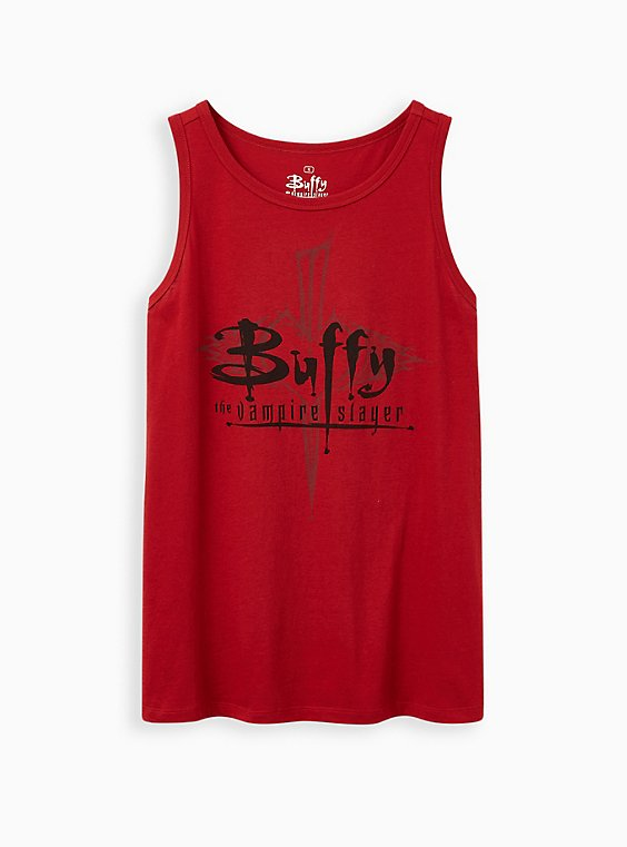 Buffy Red Tank, RED, hi-res