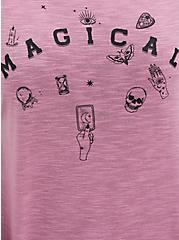 Off Shoulder Tee - Heritage Slub Purple Magical, ORCHID, alternate