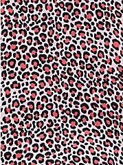 V-Neck Tank - Soft-Stretch Challis Leopard Pink, LEOPARDS-PINK, alternate