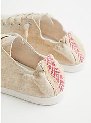 Riley - Natural Canvas Sneaker (WW), NATURAL, alternate