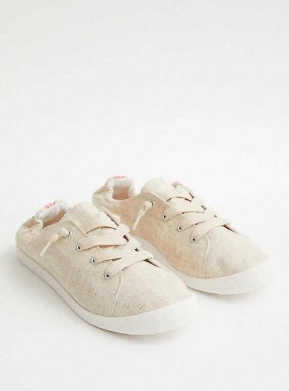 Riley - Natural Canvas Sneaker (WW), , hi-res