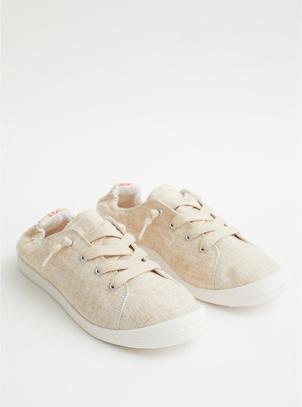 Riley - Natural Canvas Sneaker (WW), NATURAL, hi-res