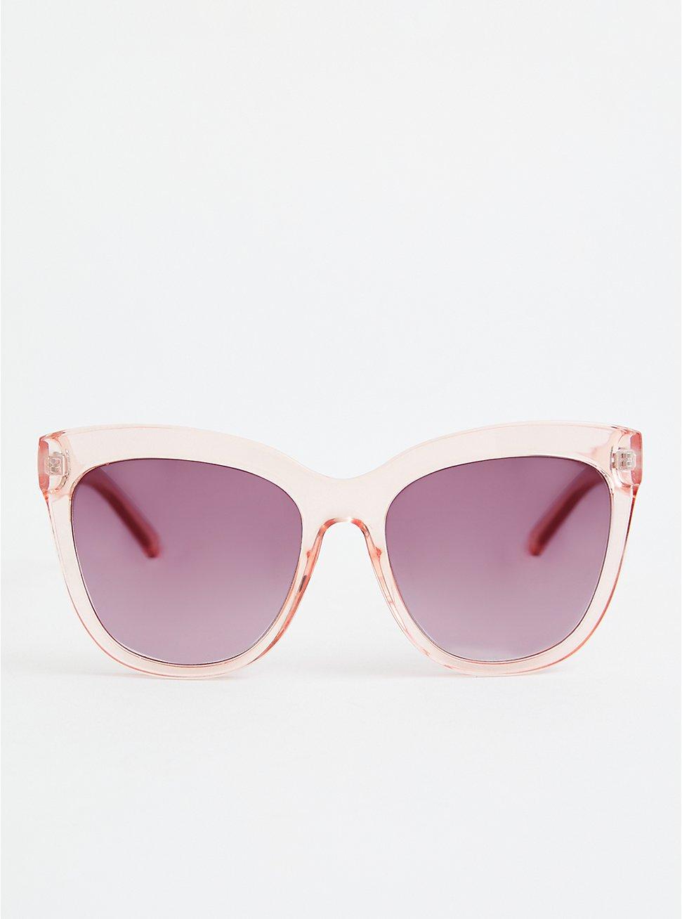 Pink Cat Eye Sunglasses, , hi-res