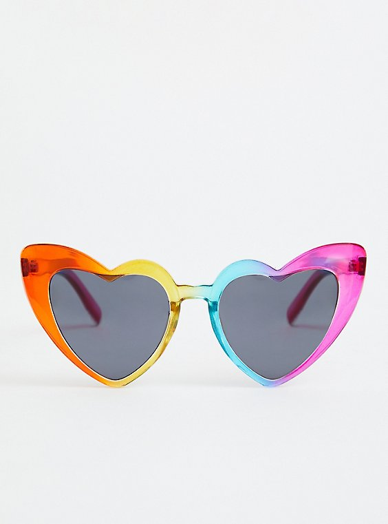Celebrate Love Rainbow Cat Eye Sunglasses, , hi-res