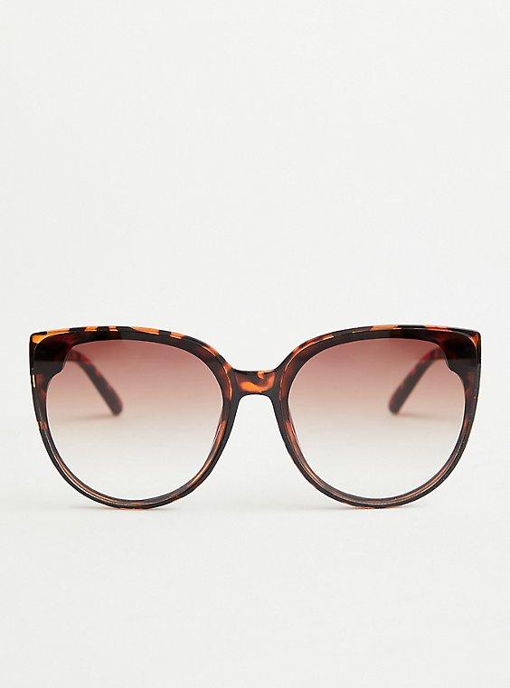 Tortoise Cat Eye Sunglasses, , hi-res