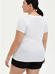 Everyday Tee - Signature Jersey White Ambitious , BRIGHT WHITE, alternate