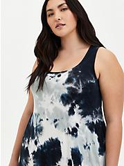 Multi Tie-Dye Super Soft Midi Dress, TIE DYE, alternate