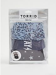 Stay Wild Non-Medical Reusable Masks - Pack of 3, , alternate