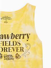 Yellow Tie-Dye Beatles Tank, MINERAL YELLOW, alternate