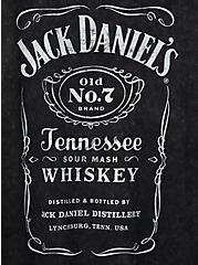 Classic Fit Crew Tank - Jack Daniels Mineral Wash Black, DEEP BLACK, alternate