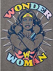 Plus Size Classic Fit Tank - Wonder Woman Grey, MEDIUM HEATHER GREY, alternate