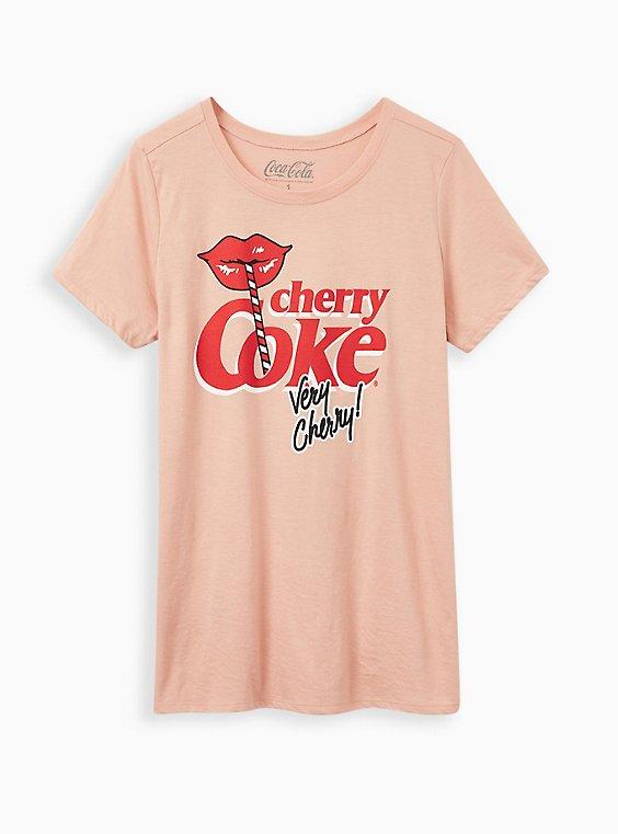 Slim Fit Tee - Pink Cherry Coke , , hi-res