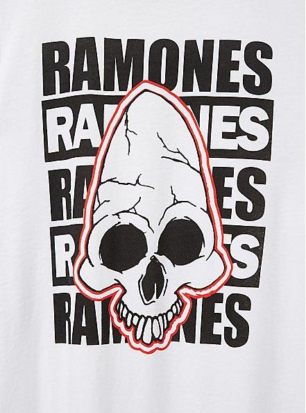 Classic Fit Crew Tee – Ramones White, BRIGHT WHITE, alternate