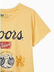 Classic Fit Crew Tee – Coors Yellow, MINERAL YELLOW, alternate
