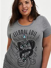 Plus Size Disney Hercules Hades Eternal Evil Cinch Side Top, HEATHER GREY, alternate