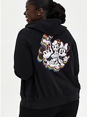 Disney Pride Mickey & Friends Hoodie - Fleece Black, DEEP BLACK, hi-res
