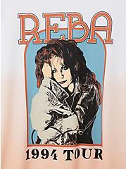 Classic Crew Tee - Reba Pink Dip Dye, PINK, alternate