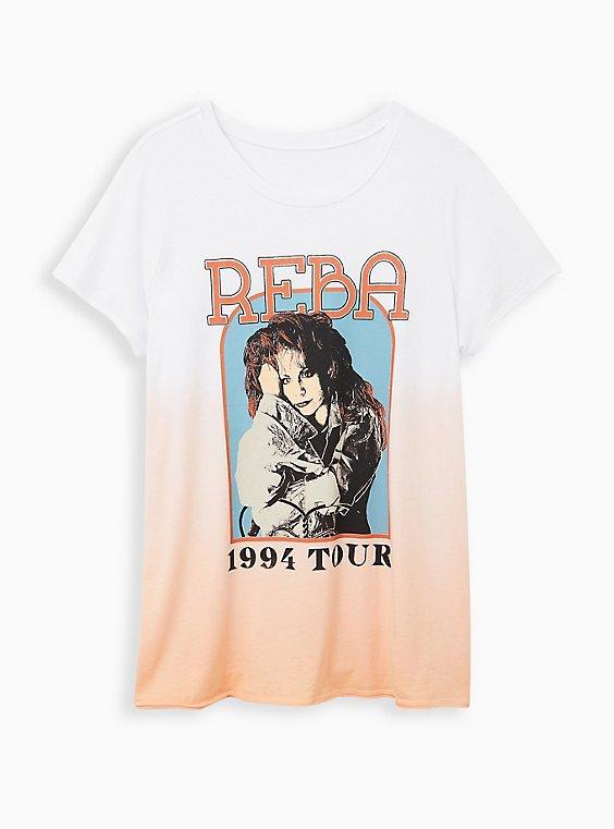 Classic Crew Tee - Reba Pink Dip Dye, PINK, hi-res