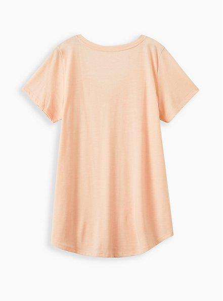 Girlfriend Tee - Signature Jersey Light Pink , PALE BLUSH, alternate