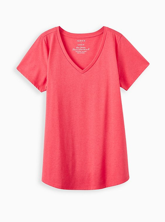 Girlfriend Tee - Signature Jersey Bright Berry, TEABERRY, hi-res