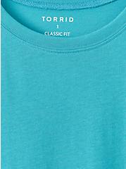 Everyday Tee - Signature Jersey Teal, TEAL, alternate