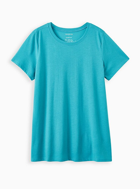 Everyday Tee - Signature Jersey Teal, TEAL, hi-res