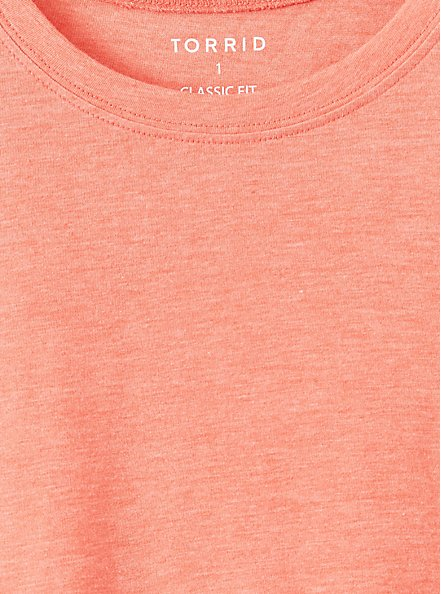 Everyday Tee - Signature Jersey Coral, CORAL, alternate
