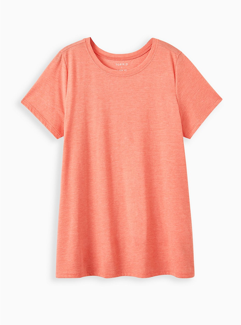 Everyday Tee - Signature Jersey Coral, CORAL, hi-res