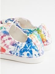 Celebrate Love Riley - Rainbow Tie-Dye Canvas Sneaker (WW), TIE DYE, alternate