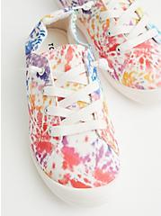 Celebrate Love Riley - Rainbow Tie-Dye Canvas Sneaker (WW), TIE DYE, hi-res
