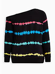 Plus Size K Pride Tie Dye Callie Sweatshirt , OTHER PRINTS, alternate