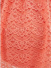 Coral Lace Babydoll Tank, CORAL, alternate