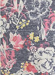 Vintage Tee - Triblend Jersey Navy Floral, OTHER PRINTS, alternate