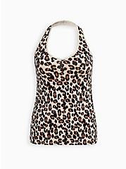 Foxy Halter Top - Leopard , LEOPARD, hi-res