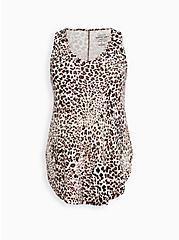 Plus Size Favorite Tunic Tank - Super Soft Leopard, LEOPARD, hi-res