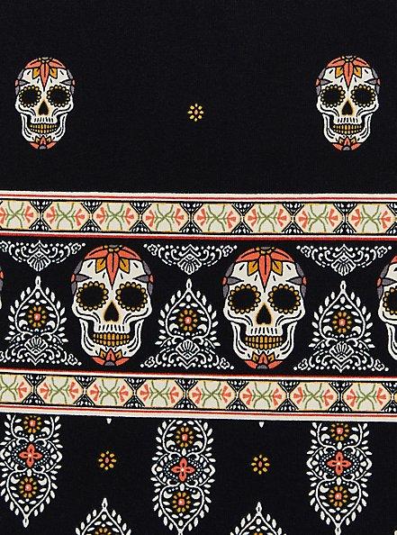 Swing Cami - Super Soft Skull Black, OTHER PRINTS, alternate