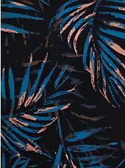 Wide Strap Foxy Tank - Palms Black, OTHER PRINTS, alternate
