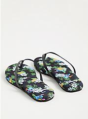 Plus Size Stitch Black Fashion Sandal (WW), MULTI, alternate