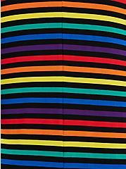 Celebrate Love Drape Front Cardigan - Super Soft Rainbow Stripe, STRIPE - MULTICOLOR, alternate