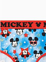 Plus Size Disney Mickey Americana Cotton Hipster Panty, MULTI, alternate