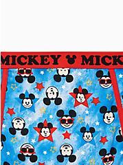 Plus Size Disney Mickey Americana Cotton High Waist Panty, MULTI, alternate