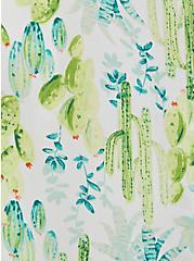 Abbey - White Cactus Georgette Blouse , MULTI, alternate