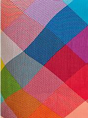 Sophie - Rainbow Plaid Crinkle Gauze Cami, PLAID - MULTI, alternate