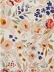 Dolman Blouse - Challis Floral Sand, FLORALS-NUDE, alternate
