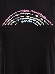 Celebrate Love Classic Fit Tank - Heritage Slub Rainbow Black, DEEP BLACK, alternate