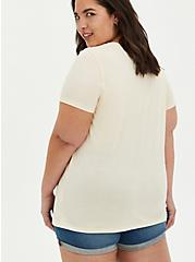 Everyday Tee - Signature Jersey Coffee Reality Beige, TAUPE, alternate